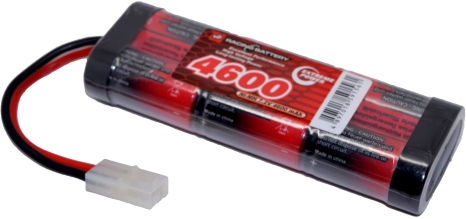 7.2v-4600mah-nimh-red,high,quality,battery,with,tamiya,connector