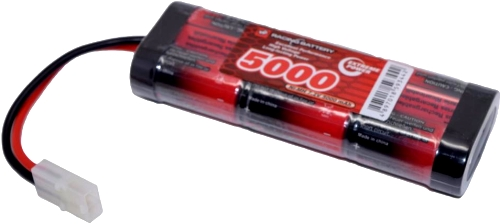 7.2v-5000mah-nimh-red-quality-battery-tamiya-connector