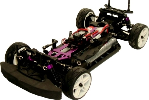 1 10 Electric 4x4 Rc Race Car Ford Gto