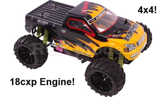 Best Rc Truck 4x4 : Rc car monster truck nitro petrol radio remote control