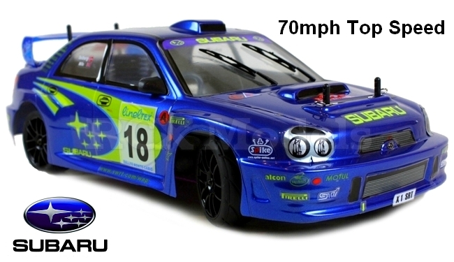 Himoto Nitro Speed Subaru Impreza Rally Car