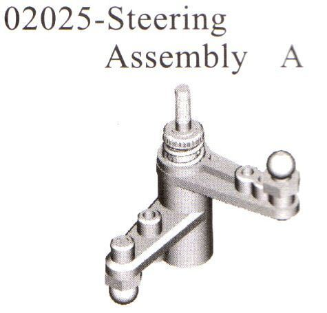 Steering-assembly-b-02025-SERVO SAVER