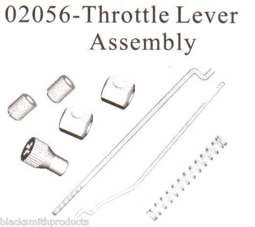 02056 Throttle Brake Lever Locator Spring Assembly