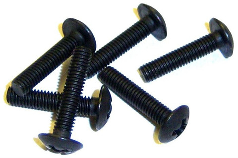02097 x6 Screws 3mm x 14mm 1/10