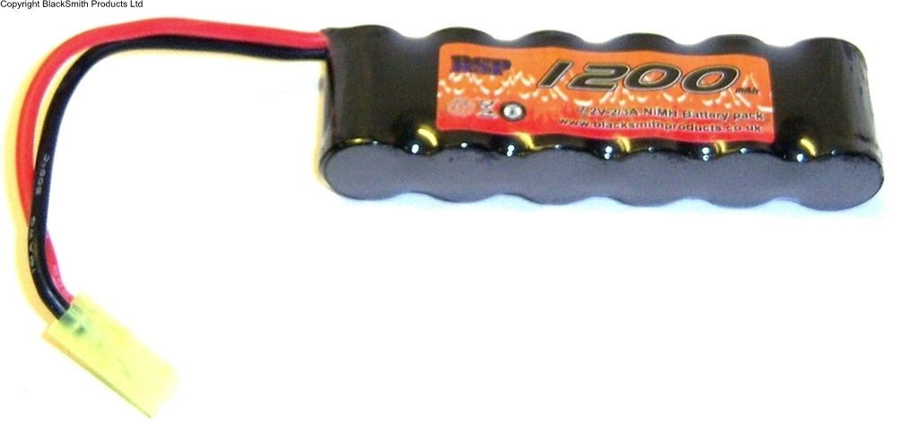 1200mah 7.2v Rechargeable Battery Pack Ni-MH Micro Tamiya Connector