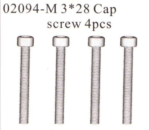 HIMOTO Exhaust Manifold screws 02094
