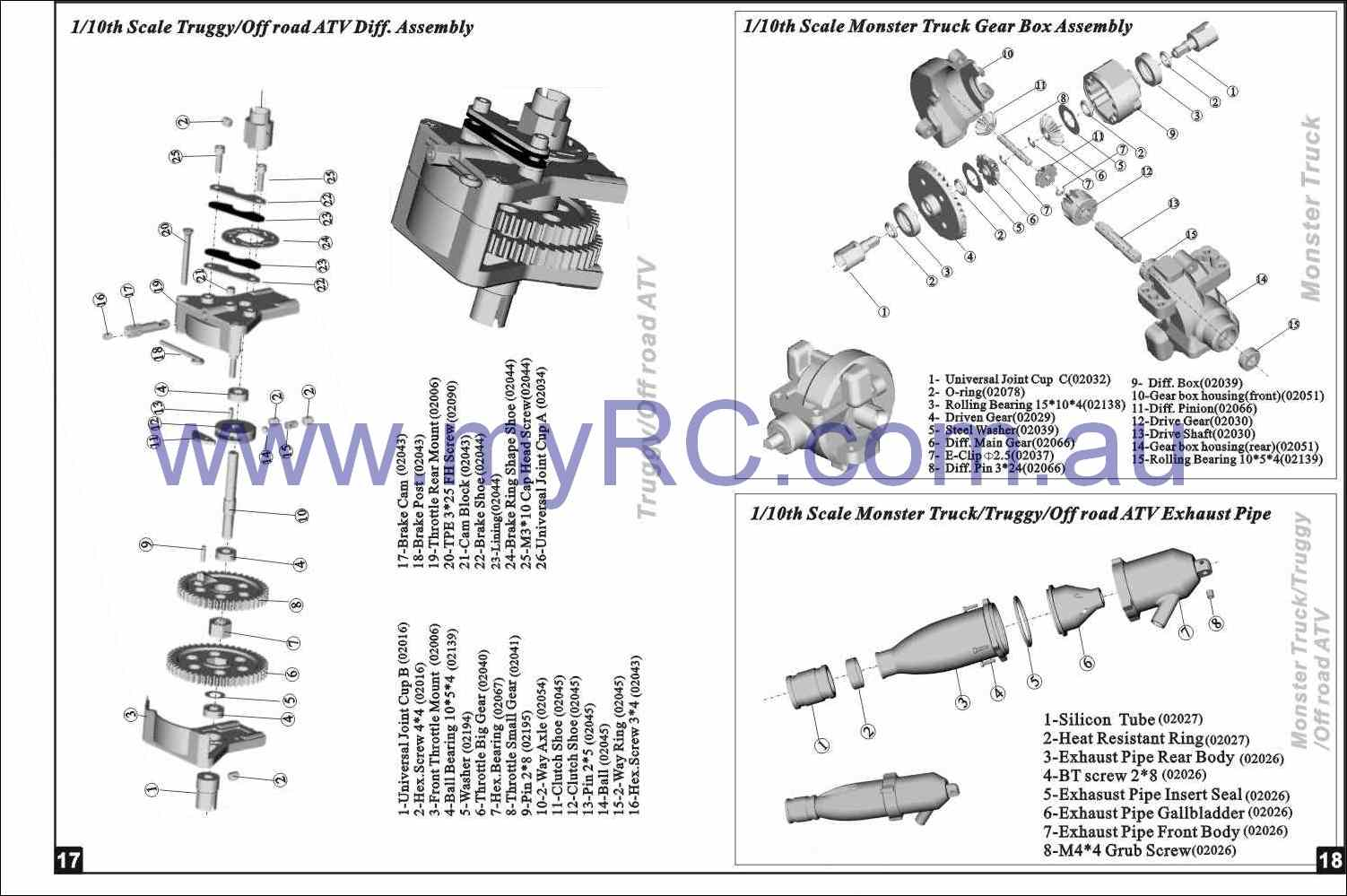 HIMOTO-HSP-Nitro-Monster-Truck-Parts-List-3