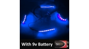 RC Car Under Glow Kit 4x Strip Version
