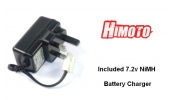 HIMOTO RC Car Nitro Engine Electric ROTO/DRILL Starter With Battery And Charger