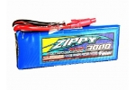 3000mAh LiPo Battery 2S 7.4V RC 40C 50C Burst