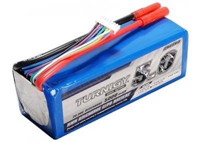 5000mAh LiPo Battery 6S 22.2V 20C 30C