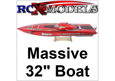 Himoto Crosswinds 1:6 Brushless Ready To Run Racing Boat.