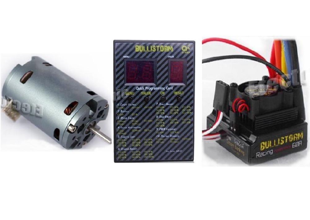 17 5t Sensored Brushless Motor Combo