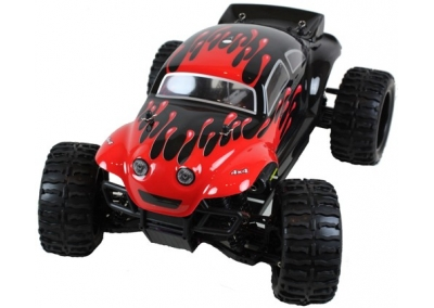 1/10 Electric RC Baja Buggy  (Splat Attack Red)