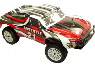 Himoto 1/10 4x4 Short Course Truck Like Traxxas Slash (Red)