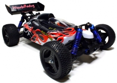 Himoto Black Flame 45mph RC Brushless Buggy