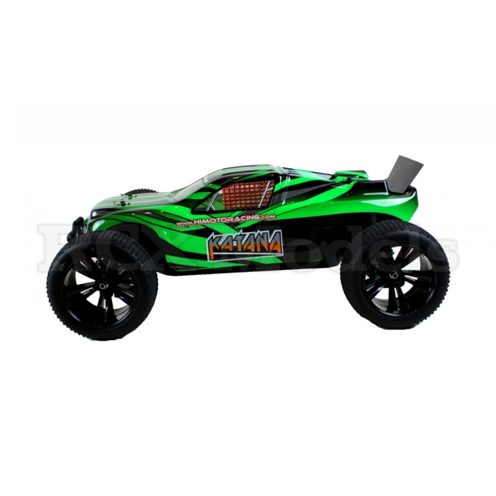 Rc Trucks Green : Himoto wd brushless rc racing truggy truck green