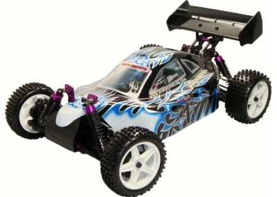 RC 1/10 4x4 Electric Buggy (Lightning Blue)