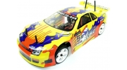 1/10 RC Electric On-Road Car (Yellow Honda Prelude)