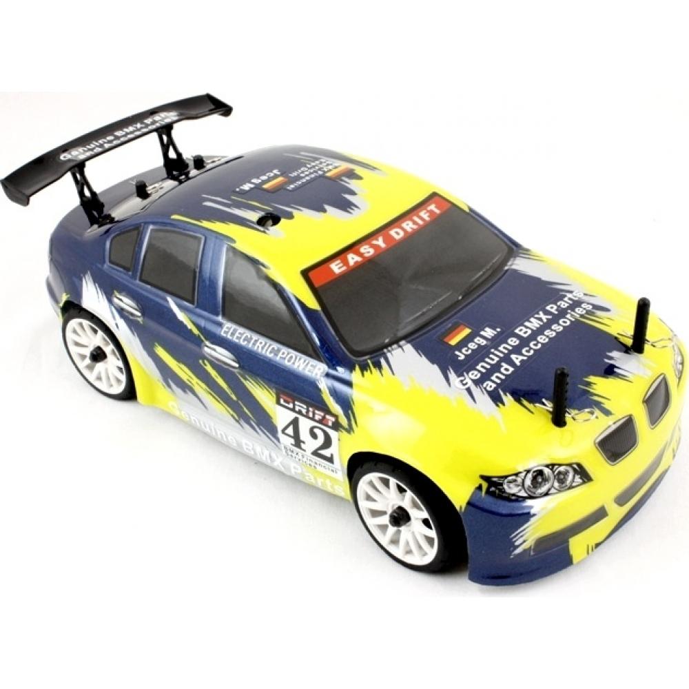 Himoto 1/16 RC Mini Touring Car (Yellow Flying Fish 3
