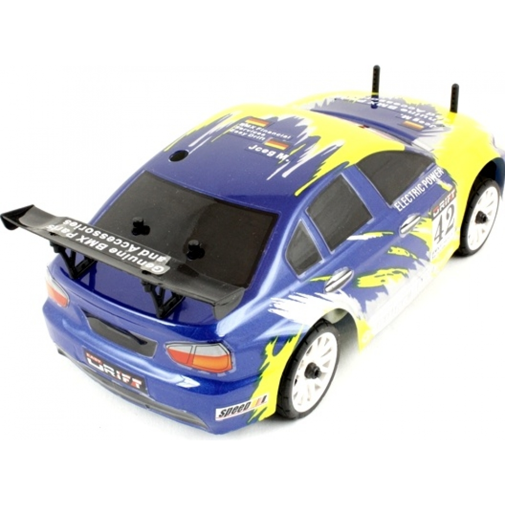 himoto 1 16 rc mini touring car yellow flying fish 3. Black Bedroom Furniture Sets. Home Design Ideas