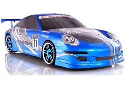 RC Drift Car 1/10 Porsche On-Road Electric RTR 4x4 (Blue)