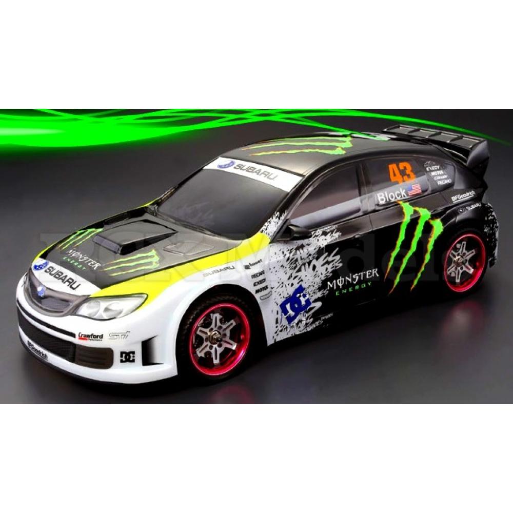 electric 1 10 rc 4x4 subaru impreza wrx 10 rally car. Black Bedroom Furniture Sets. Home Design Ideas