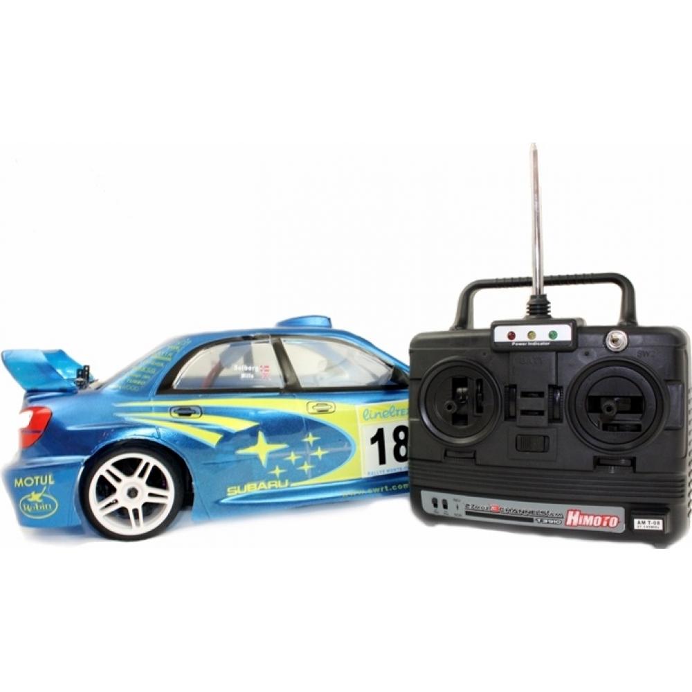 Electric 1 10 rc 4x4 subaru impreza rally car
