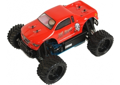 Himoto 1/16 RC Nitro Monster Truck (Lil Devil)