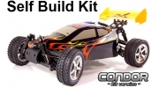 Self Build RC Car Kit Condor Nitro Buggy
