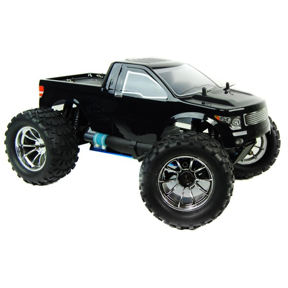 1/10 4x4 Bug Crusher Nitro Remote Control Truck 60mph! Black