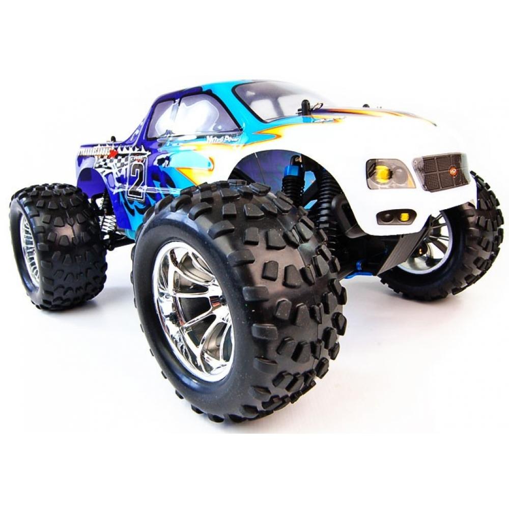 1/10 4x4 Bug Crusher Nitro Remote Control Truck 60mph