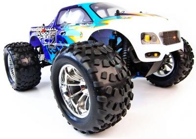 1/10 4x4 Bug Crusher Nitro Remote Control Truck 60mph!