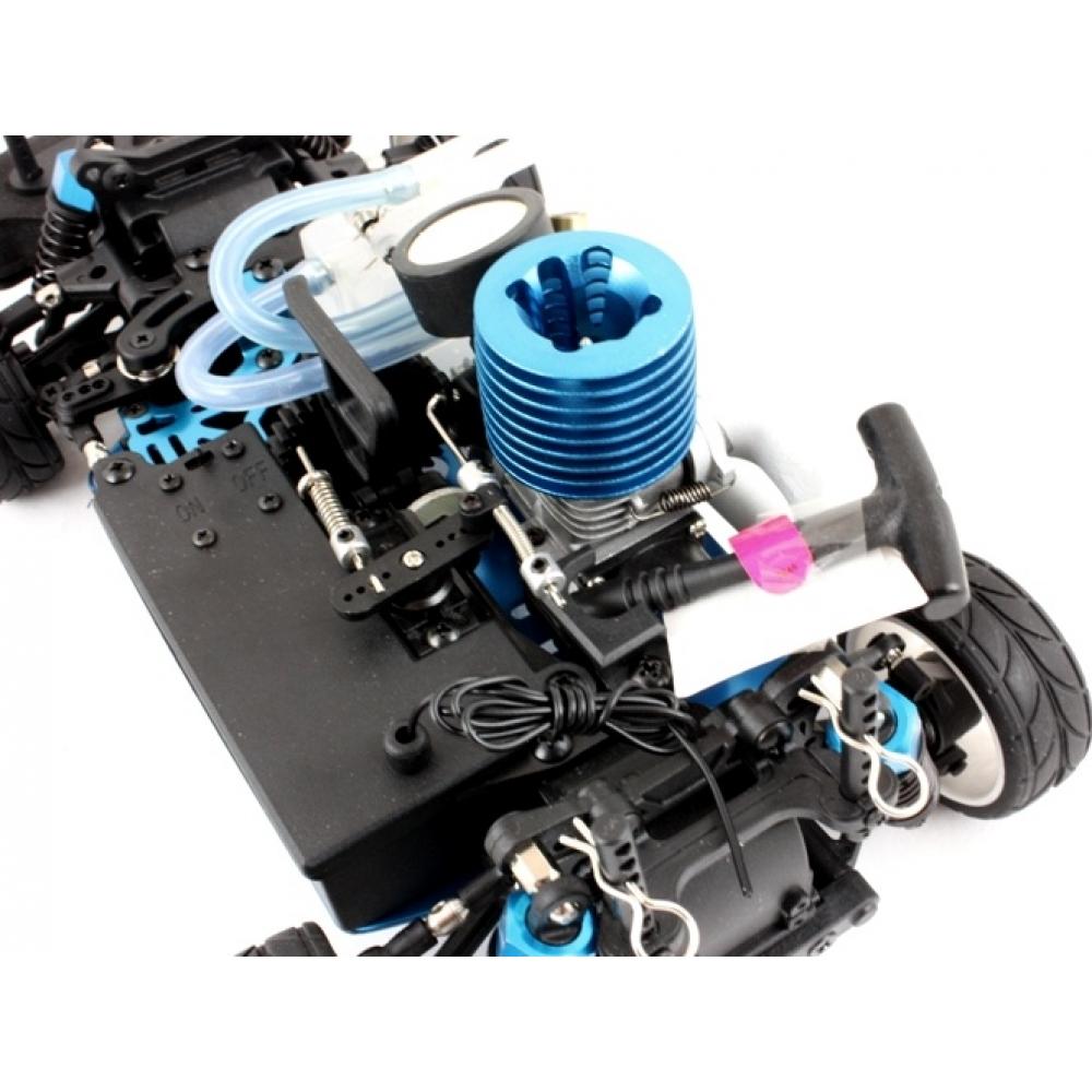 Nitro R C Cars Engine Tuning Secrets: HIMOTO 1/16 Mini RC Nitro Race Car (Yellow Flying Fish 3