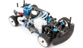 HIMOTO 1/16 Mini RC Nitro Car (Road Warrior Carbon Blue)