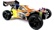 Himoto Syclone RC Nitro Buggy 1/10 RTR 4WD (Flame)