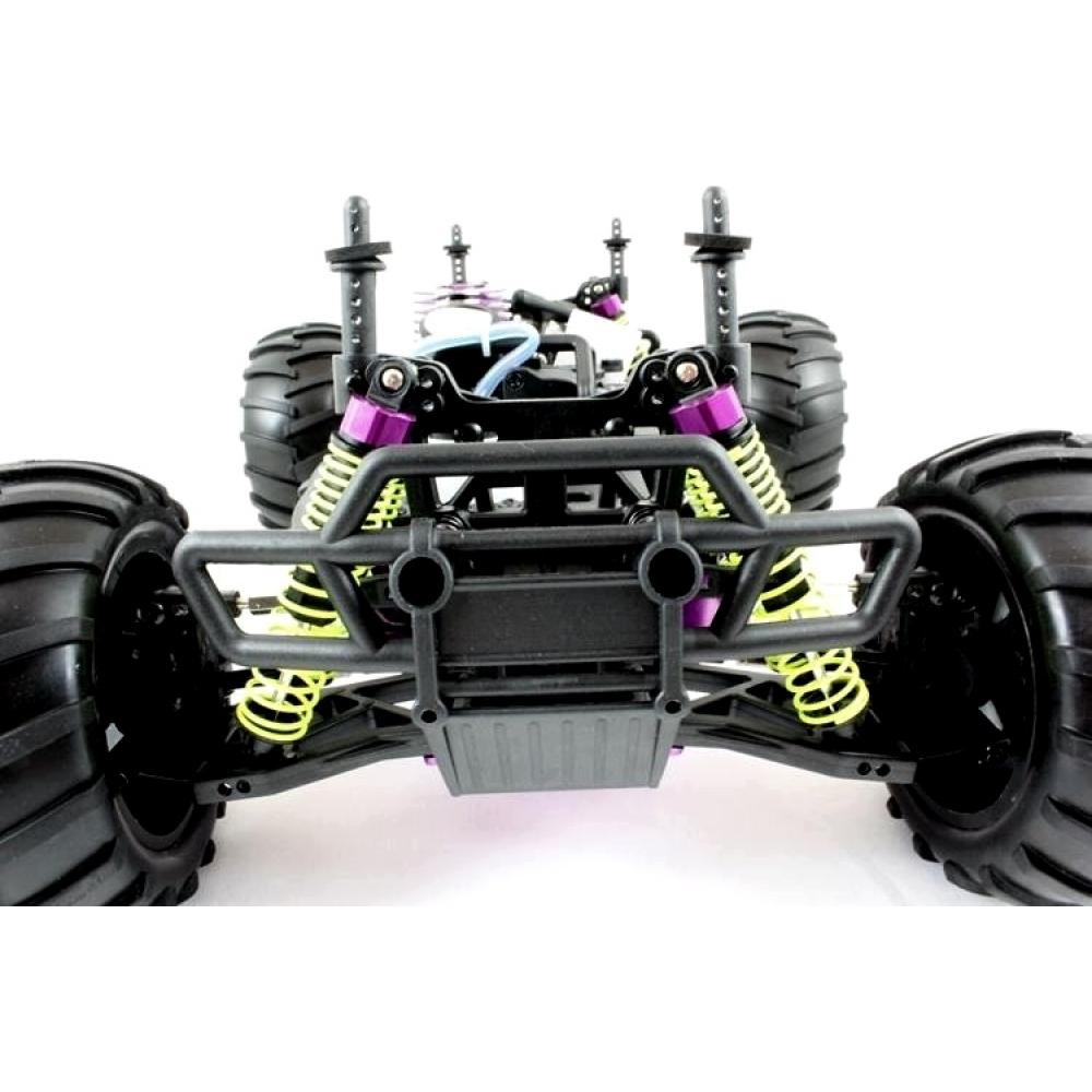 Nitro R C Cars Engine Tuning Secrets: 1/10 Nitro RC Monster Truck (Extreme