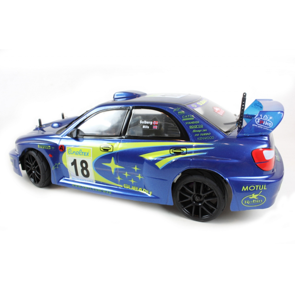 himoto nitro 2 speed 4x4 subaru impreza rally car. Black Bedroom Furniture Sets. Home Design Ideas
