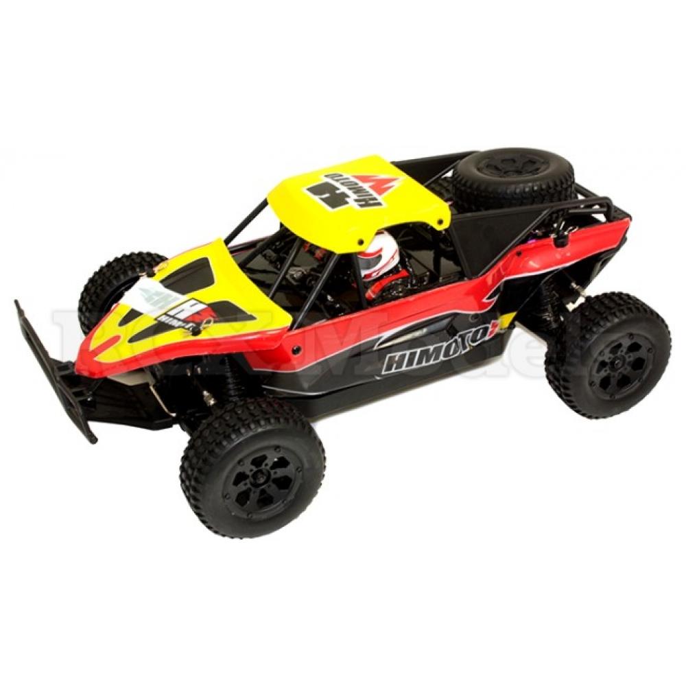 Himoto Pro 4x4 1 10 Rc Desert Race Buggy Yellow