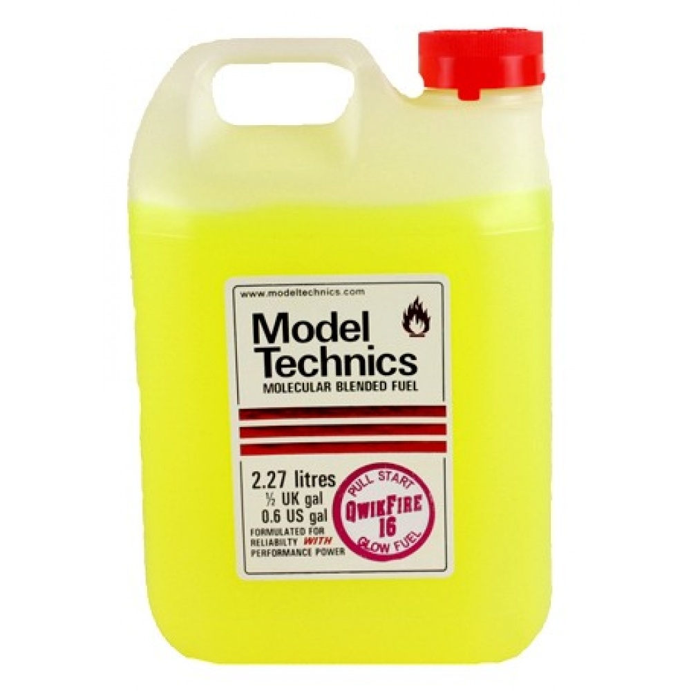 Model Technics Nitro Car Fuel Qwikfire 16 2 27 Litres