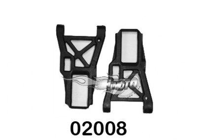Himoto HSP On-Road Car Front Lower Suspension Arms 02008