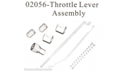 02056 Throttle Linkage Brake Lever Spring Assembly