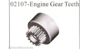 02107 1 Speed Clutch Bell gear 1/10