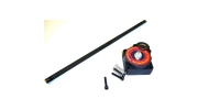 Electric Roto Drill Starter Nitro Engine Backplate and Rod 12mm
