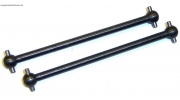 06061 84mm Entire Length Dogbone Drive Shaft x 2 - 78mm Between Pins
