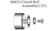 86035 Clutch Bell Housing Assembly 13T 1/16
