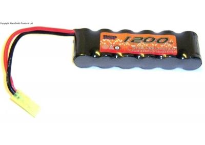 1200mah 7.2v Rechargeable Battery Pack Ni-MH Micro Tamiya Connector