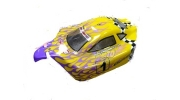 1/10 Scale Car Buggy Spare Body - Yellow Flame