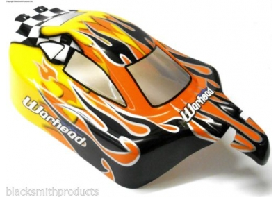 1/10 Scale Car Buggy Spare Body - Flame