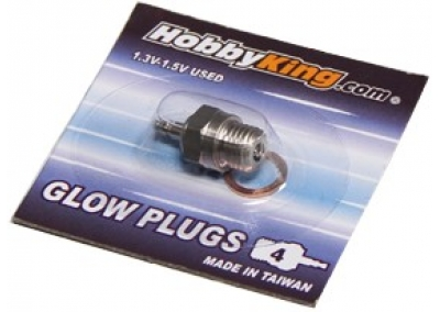 HK Glow Plug No.3 (HOT) For Nitro Car Engines